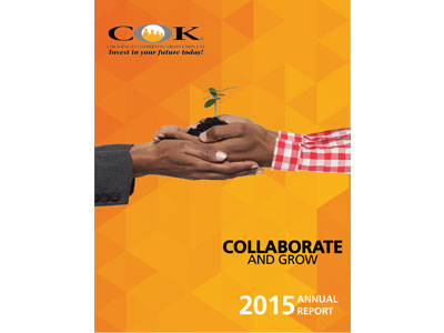 COK 2015 Annual Report